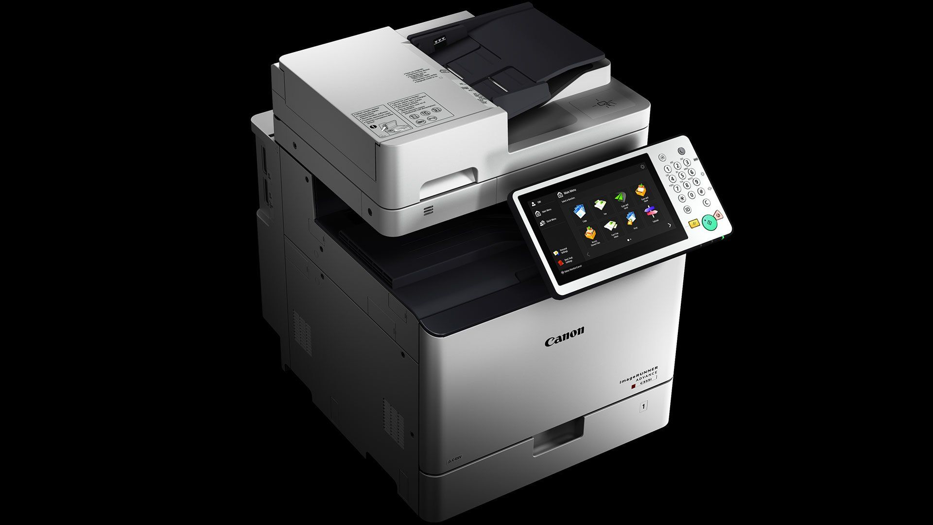 canon imagerunner advance c255 c355 series business printers fax